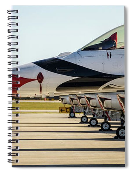 One Jet Or Seven Spiral Notebook