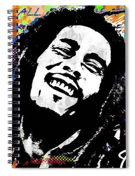 One Love Spiral Notebook