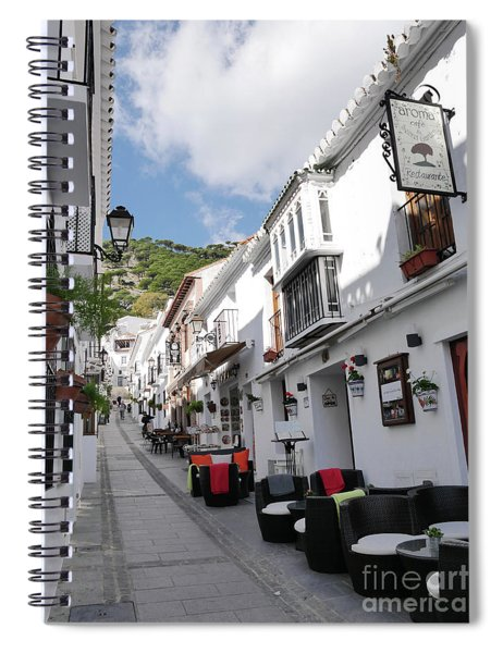 one of the most photographed streets in Spain Spiral Notebook