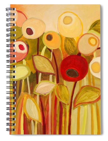 One Red Posie Spiral Notebook