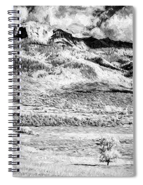 One Stands Alone II Spiral Notebook