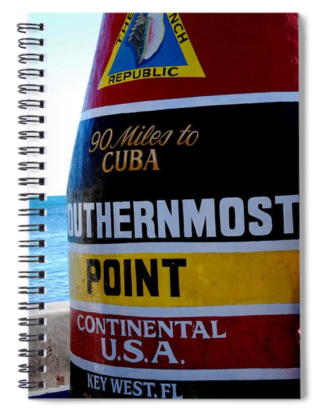 Only 90 Miles To Cuba Spiral Notebook