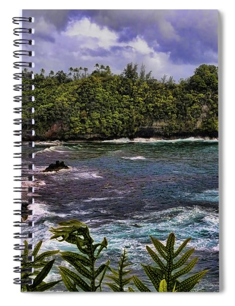 Onomea Bay Hawaii Spiral Notebook