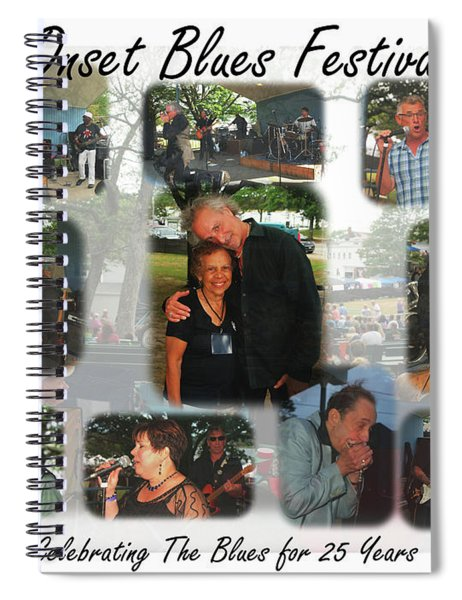 Onset Celebrates 25 Years Of Blues Spiral Notebook