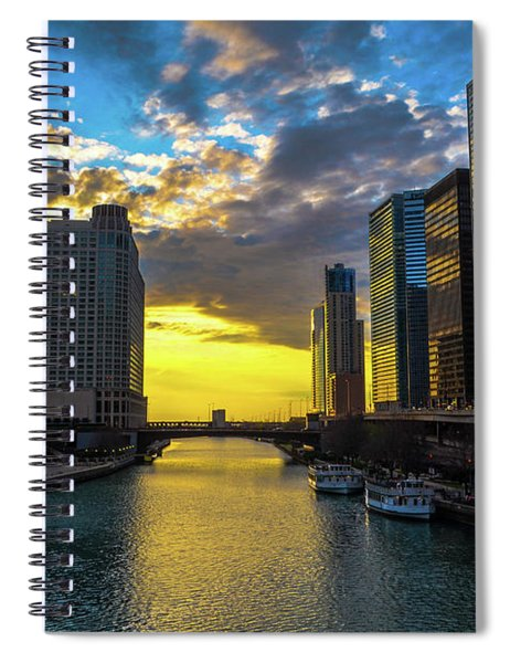 Onto The Lake Spiral Notebook