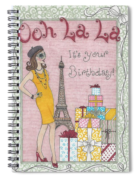 Ooh La La Spiral Notebook