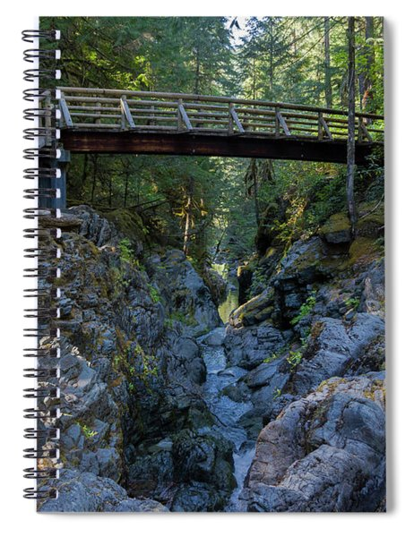 Opal Creek Bridge Spiral Notebook
