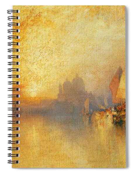Opalescent Venice Spiral Notebook