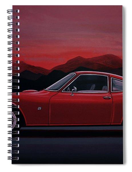 Opel Gt 1969 Painting Spiral Notebook