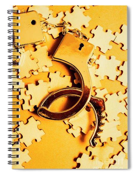 Open Guilt Spiral Notebook