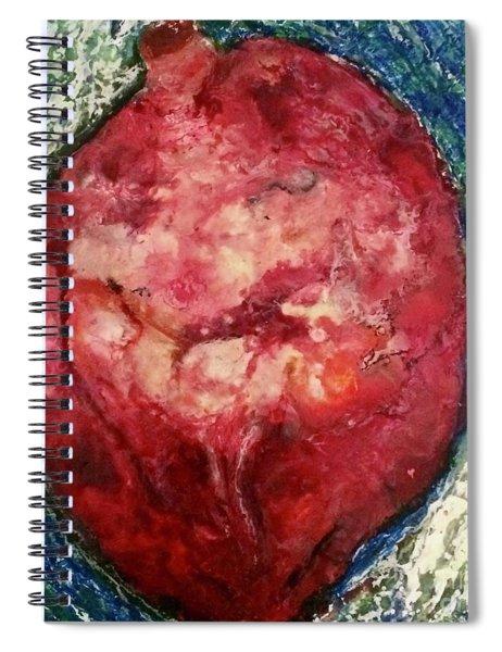 Open Hearted Spiral Notebook
