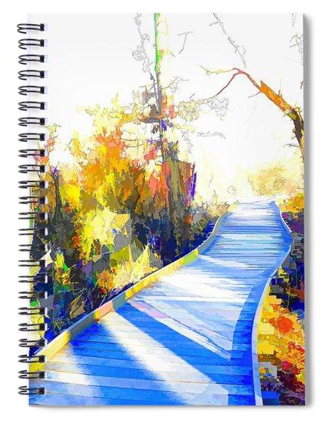 Open Pathway Meditative Space Spiral Notebook