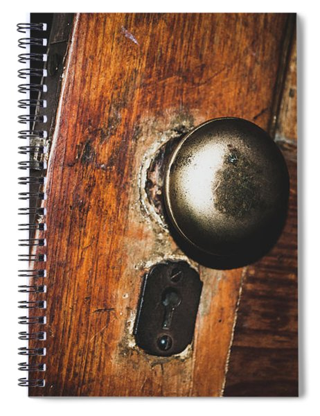 Open To The Past Spiral Notebook