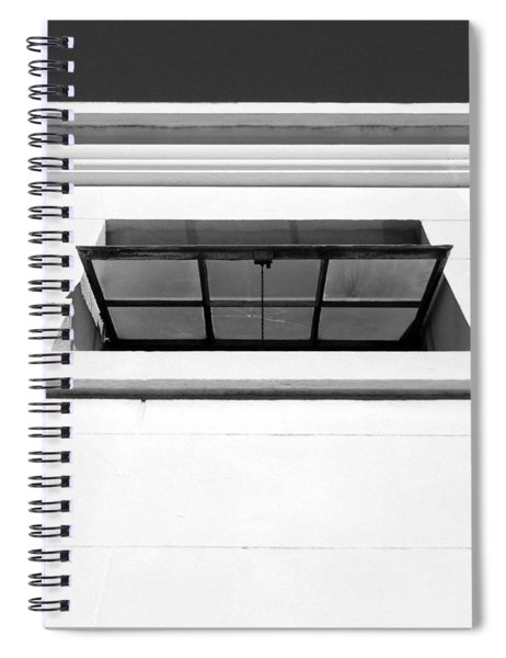 Open Window- By Linda Woods Spiral Notebook
