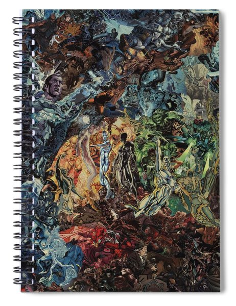 Opening Of The Fifth Seal After El Greco Spiral Notebook