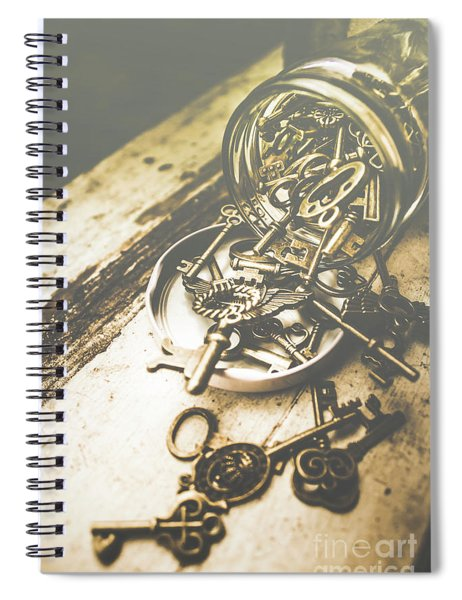 Openings Spiral Notebook