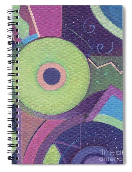Openly Green Spiral Notebook