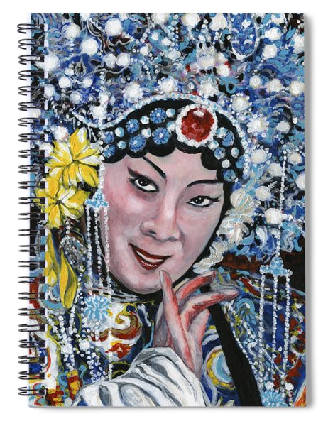 Opera Singer Spiral Notebook