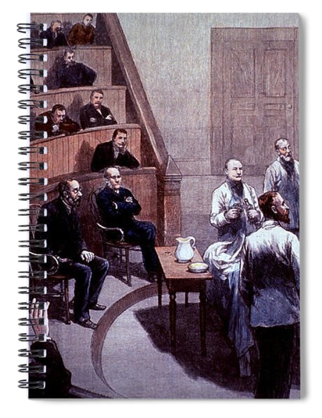 Operating Amphitheater, Administering Spiral Notebook