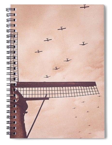 Operation Market Garden   Battle Of Arnhem Spiral Notebook