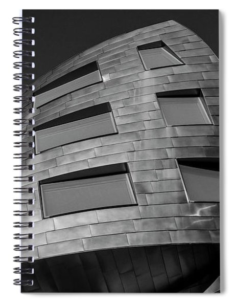 Optical Conclusion Spiral Notebook