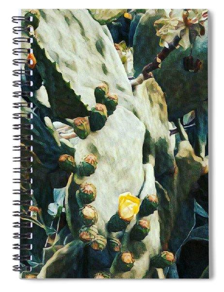 Opuntia Ficus Spiral Notebook
