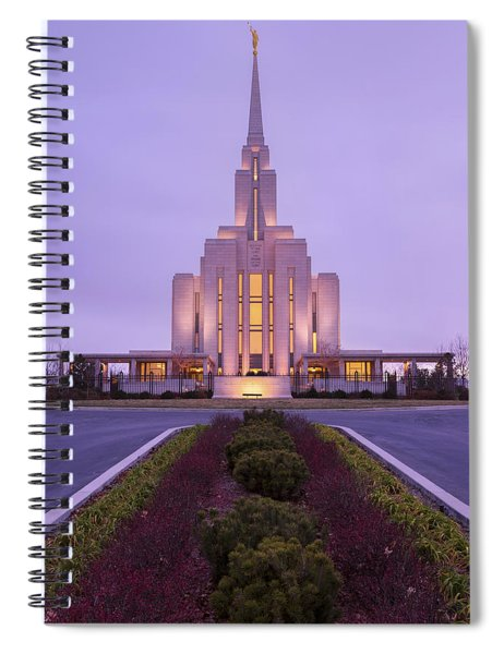 Oquirrh Fall Spiral Notebook