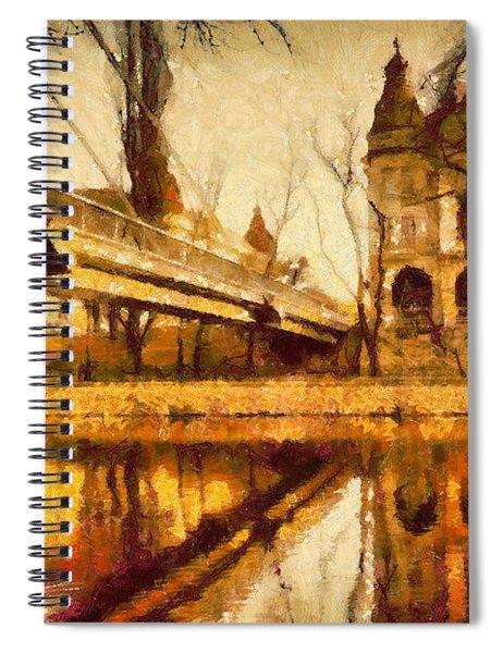 Oradea Chris River Spiral Notebook
