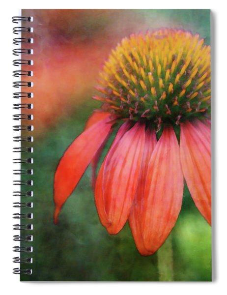 Orange Coneflower 2576 Idp_2 Spiral Notebook