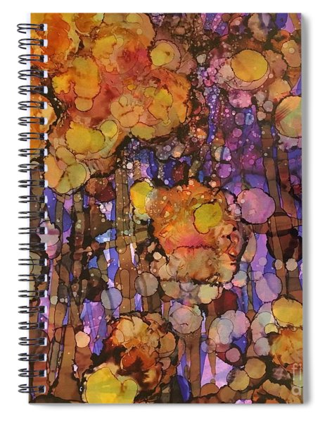 Passion Poppies Spiral Notebook