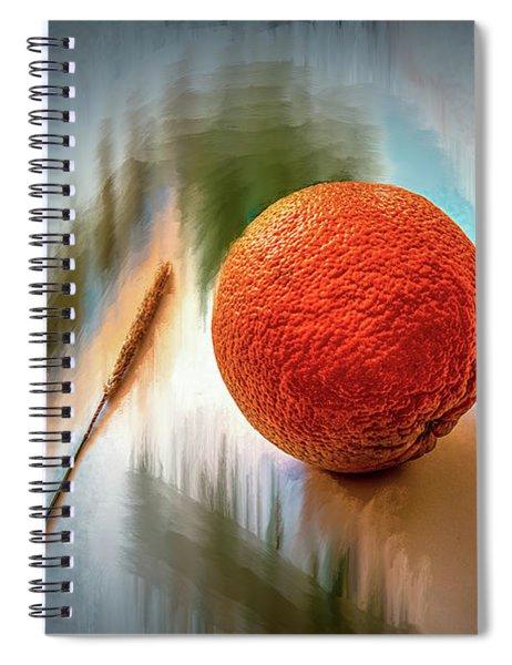 Orange #g4 Spiral Notebook