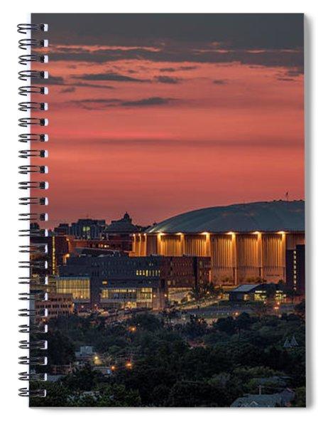 Orange Nation Spiral Notebook
