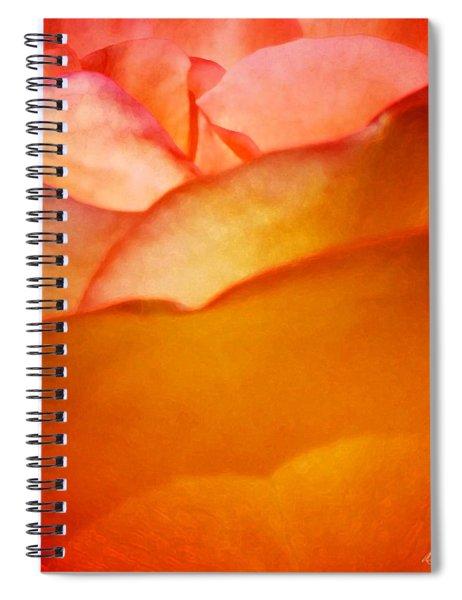 Orange Passion Spiral Notebook