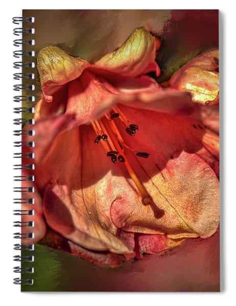 Orange Trio #h5 Spiral Notebook