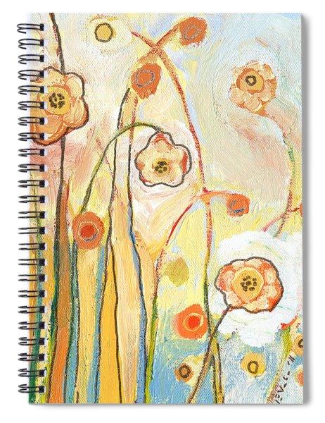 Orange Whimsy Spiral Notebook