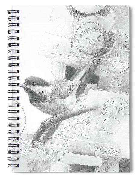 Orbit No. 2 Spiral Notebook