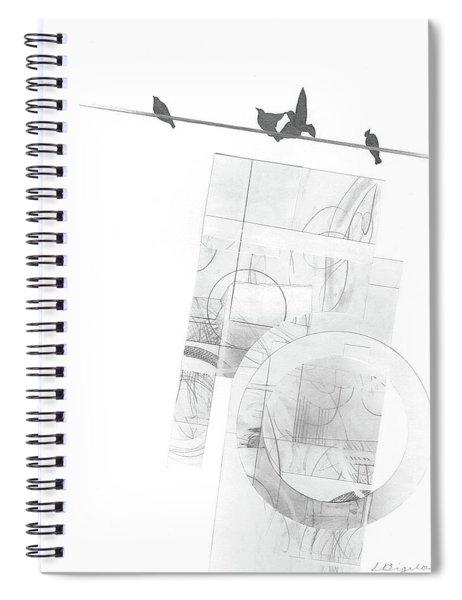 Orbit No. 3 Spiral Notebook