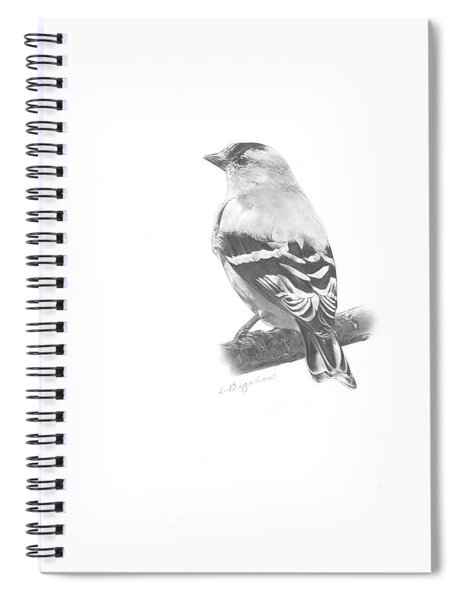 Orbit No. 5 Spiral Notebook