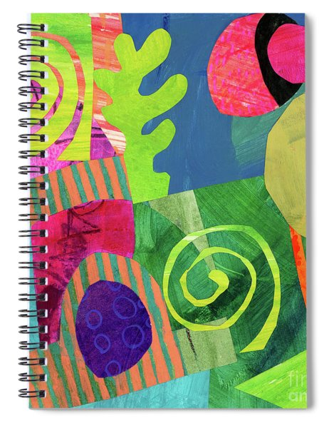 Orbits Spiral Notebook