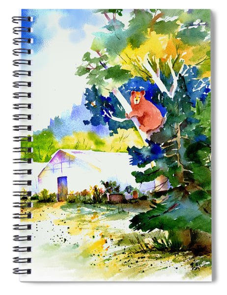 Orchard Springs Bear Spiral Notebook