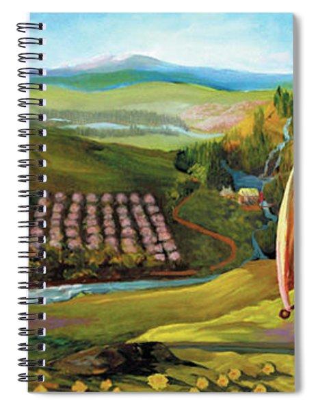 Orchard Valley Spiral Notebook