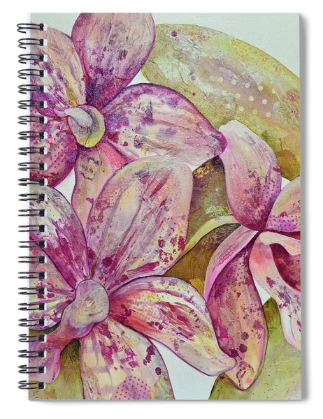 Orchid Envy Spiral Notebook