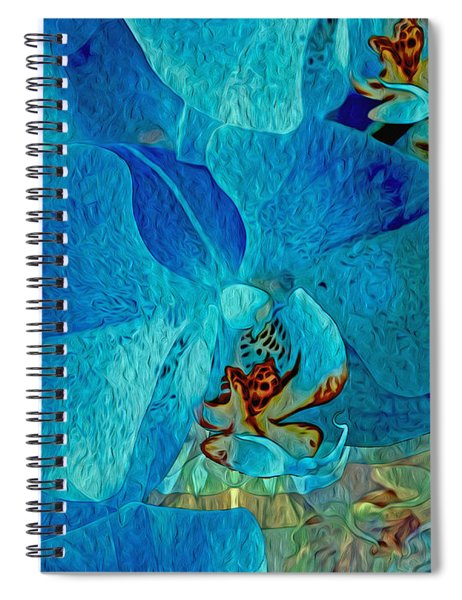 Orchid Reverie 10 Spiral Notebook