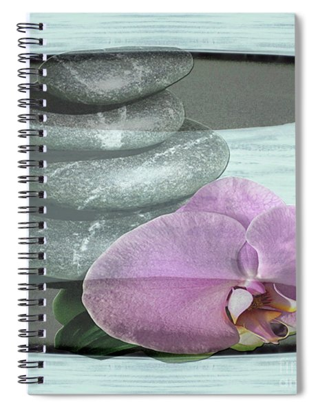 Orchid Tranquility Spiral Notebook