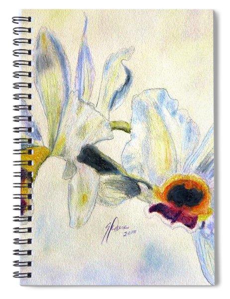 Orchid Waltz Spiral Notebook