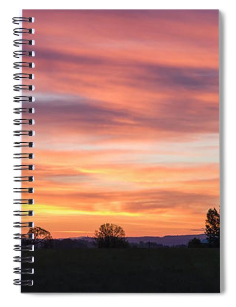 Oregon Sunrise Spiral Notebook