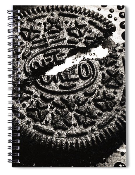 Oreo Cookie Spiral Notebook