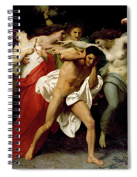 Orestes Pursued By The Furies Spiral Notebook
