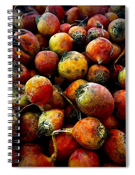 Organic Beets Spiral Notebook