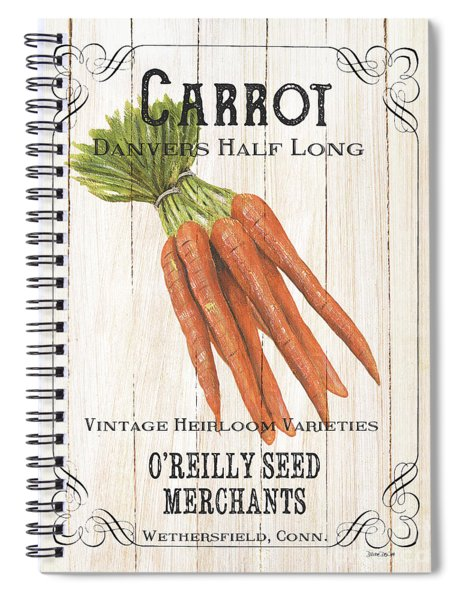 Organic Seed Packet 2 Spiral Notebook